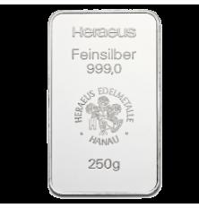 Sztabka srebra 250g