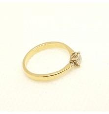 Pierścionek z diamentem 0,31ct